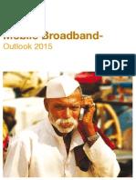 Mobile Broadband Outlook 2015