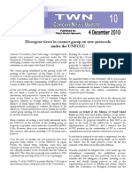 Divergent views in contact group on new protocols under the UNFCCC