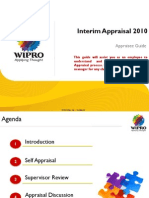 Interim Appraisal 2010-Appraisee Guide