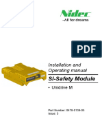 SI-Safety Installation and Operating manual Issue 5 (0478-0139-05)