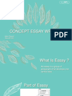 Concept of Essay