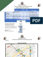 ORDEN DEL DESFILE CIVICO-MILITAR 2020
