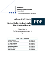 Castrol Case Analysis