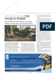 The Challenge for Those in Power, IEE Review story on Katrina aftermath and repowering of NOLA