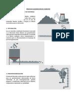 Proceso Elaboracion de Cemento
