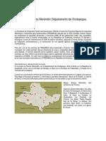 Caracterizacion de SAN del Municipio de Dolores Merendon