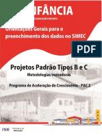 MANUAL preenchimento do SIMEC - Construção de Escolas
