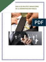 UNA MIRADA A LOS DELITOS E INFRACCIONES CONTRA LA ADMINISTRACIÓN PÚBLICA.docx