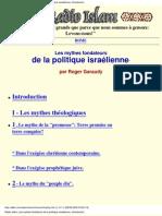 Les Mythes Fondateurs de La Politique Israelienne