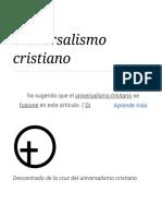 Universalismo cristiano