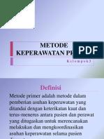 Metode Keperawatan Primer
