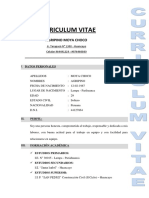 curriculum COMPLETO
