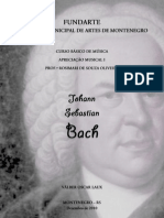 Trabalho FUNDARTE - Johann Sebastian Bach