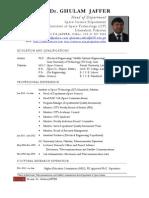 Ghulam Jaffer CV