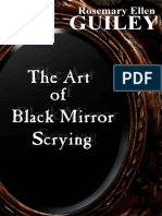 The Art of Black Mirror Scrying - Rosemary Ellen Guiley