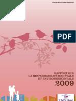 Rapport RSE 2009 Trois Moulins Habitat