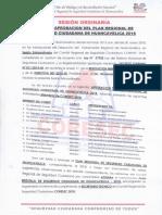 ACTA DE APROBACION PLAN CORESEC 2018