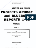 Projects GRUDGE and BLUEBOOK - Reports 1 - 12