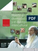 Informe Unesco Invetir en La Divers Id Ad Cultural