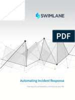 Automating Incident Response