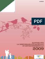 Rapport RSE 2009 Logirep
