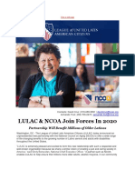 Lulac Ncoa Join Forces in 2020