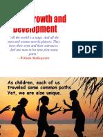 Human Growth and Development YAHOO