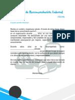 CARTA DE RECOMENDACION LABORAL (FARMACIA)