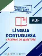 Caderno de Questões - 2º Simulado SAEPE - SAEB 2019