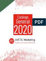 Catalogo General 2020  - Arte Marketing