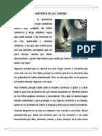 HISTORIA DE LA LLORONA