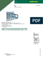 BIS PushStrut Wallplate - H 29 28 (RU)