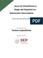 Programa Textos Expositivos