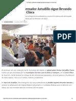 09-10-2019 en Guerrero, Gobernador Astudillo Sigue Llevando Apoyos a La Costa Chica.