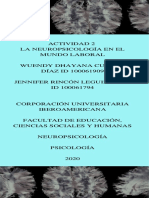 Actividad 2 -La Neuropsicología en el mundo laboral