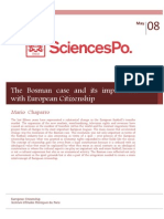 The Bosman Case and Its Implication With European Citizenship