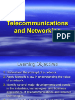 Telecommunications and Networking 1866