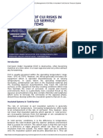 AIE _ Management of CUI Risks In Insulated 'Cold Service' Pressure Systems
