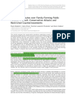Narrative Disputes over Family-Farming Public Policies in Brazil