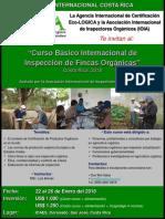 Afiche Curso Inspectores Orgánicos IOIA Ene.18