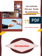 C3. contrats liés aux  fonds de commerce