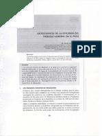 Antecedentes de La Reforma Del Proceso Laboral en El Perú