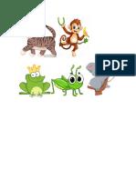 ANIMALES QUE TREPANN Y SALTAN