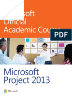Microsoft Project 2013 - Microsoft Official Academic Cou