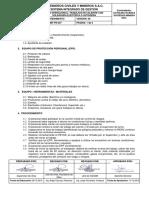 MMT-PE-027 TRABAJOS EN CALIENTE CON SOLDADURA ELECTRICA Y AUTOGENA