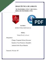CONEXIÓN DE PLANCHA DE ALA EMPERNADA (BFP)