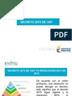 PRESENTACIÓN ALIMENTOS RESOLUCION 2674 DE 2013