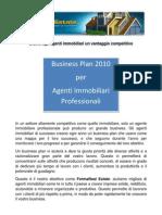 Business Plan 2010 Per Agenti Immobiliari Profession Ali