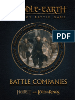 Middle-Earth - Expansion - Battle Companies