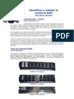 Identificar e Instalar La Memoria RAM